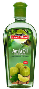 Saeed Ghani Amla Enriched Hair Oil 200 ML. Lowest price on Saloni.pk