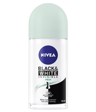 Nivea Invisible Black & White Fresh Roll On 50ml. Lowest price on Saloni.pk