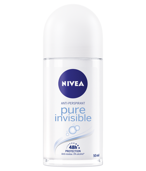 Nivea Deo Roll-On Pure Invisible 50 ML. Lowest price on Saloni.pk