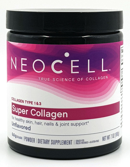 NeoCell Super Collagen Powder – 6,600mg Collagen Types 1 & 3 - Unflavored - 7 Ounces. buy online in pakistan