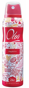 OLOR Body Spray 24h Protection Party 150 ML. Lowest price on Saloni.pk