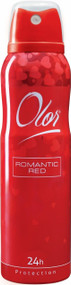 OLOR Body Spray 24h Protection Romantic Red 150 ML. Lowest price on Saloni.pk