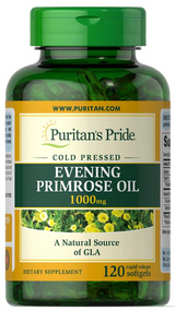Puritan's Pride Evening Primrose Oil 1000mg - 120 Softgels. Lowest price on Saloni.pk