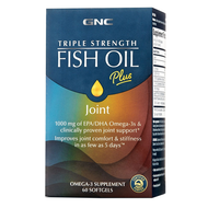 GNC Triple Strength Fish Oil Plus Joint - 60 Softgels. Lowest price on Saloni.pk.