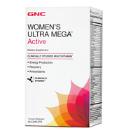 GNC Women's Ultra Mega Active Dietary Supplement - 90 Caplets. Lowest price on Saloni.pk