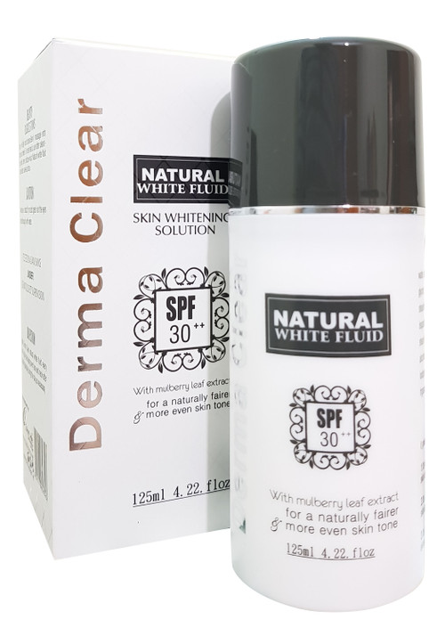 Derma Clear Natural White Fluid SPF 30++ 125 ML. Lowest price on Saloni.pk