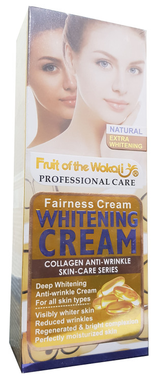Fruit Of The Wokali Fairness Anti-Wrinkle Whitening Cream 100 ML. Lowest  price on Saloni.pk