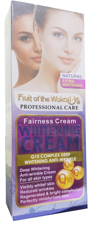 Fruit Of The Wokali Fairness Q10 Complex Deep Whitening Cream 100 ML. Buy Original Products In Pakistan.