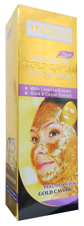 Fruit of The Wokali Whitening Gold Caviar Peel Off Mask 130 ML. Buy Original Products on Saloni.pk