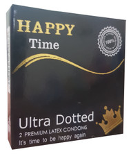 Happy Time Ultra Dotted 2 Premium Condoms buy online in pakistan