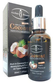 Aichun Beauty Coconut Brightening & Whitening Face Serum 30 ML. Buy Online in Pakistan at Saloni.pk