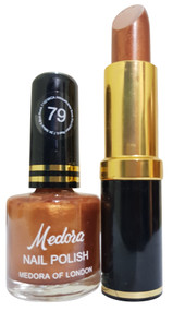 Medora Lipstick and Nail Polish Pair Pack 79. Lowest price on Saloni.pk