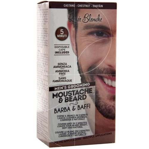Renee Blanche Brush-In Color Mustache & Beard.  Buy original products on Saloni.pk