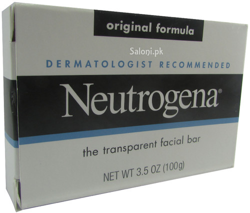 Neutrogena The Transparent Facial Bar Soap (Original Formula) 100 Grams