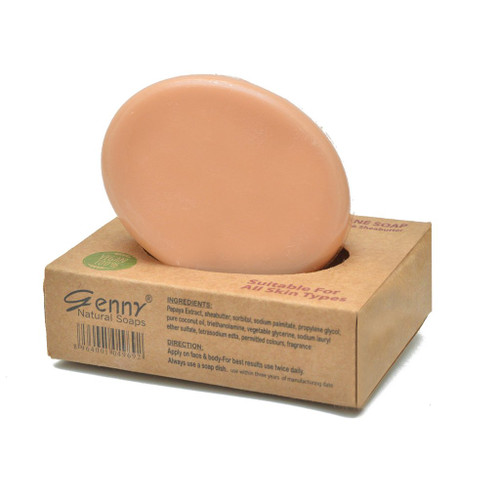 Genny Cosmetics Natural Anti-Acne Soap. Lowest price on Saloni.pk