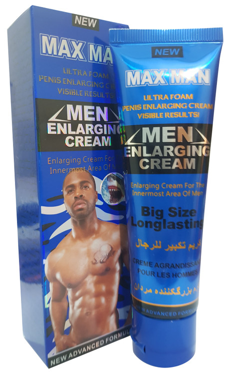 Maxman Men Delay & Enlargement Cream.  Best price original products