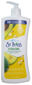 St.Ives Hydrating Vitamin E & Avocado Body Lotion 621 ML. Original Product on Saloni.pk