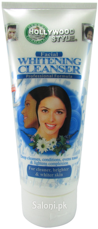 Hollywood Style Facial Whitening Cleanser (Front)