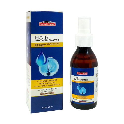 Saeed Ghani Hair Growth Water Non Greasy 120 ML Buy online in Pakistan on Saloni.pk