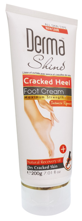 Derma Shine Cracked Heel Foot Cream - 200 Grams. Lowest price on Saloni.pk