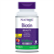 Natrol Biotin 10,000 Mcg Fast Dissolve Maximum Strength 60 Tablets Buy oniline in Pakistan on Saloni.pk