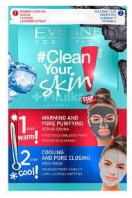 Eveline Clean your Skin Warming & Cooling Mask