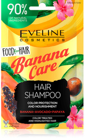 Eveline Cosmetics Food For Hair Banana Care Hair Shampoo 20ml Lowest Price On Saloni.PK