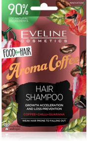 Eveline Cosmetics Food For Hair Aroma Cofee Hair Shampoo 20ml Lowest Price On Saloni.Pk