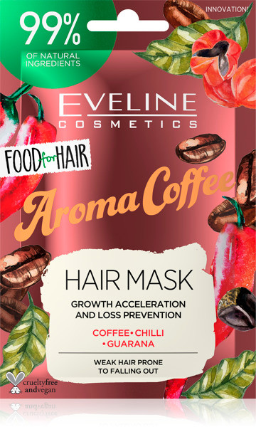 Eveline Food For Hair Aroma Coffee Care Hair Mask 20 ML Lowest Price On Saloni.pk