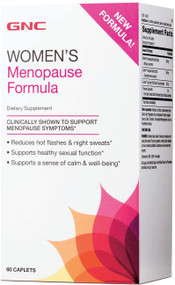 GNC Women's Menopause Formula 60 Caplets. Buy Original products on Saloni.pk