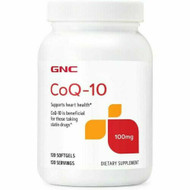 GNC CoQ-10 100 MG Dietary Supplement 120 Softgels Buy original Items on Saloni.pk