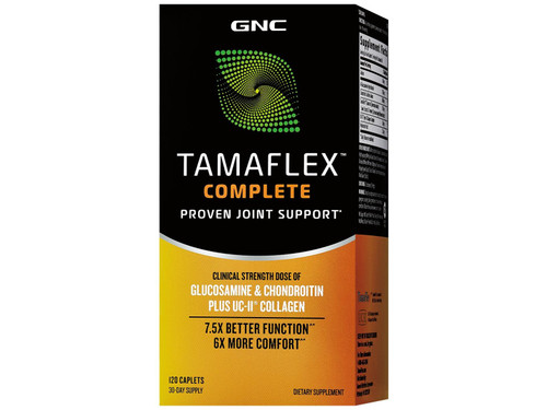 GNC Tamaflex Complete Proven Joint Support 30-Day Supply 120 Caplets. Lowest price on Saloni.pk