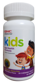 GNC Milestones Kids Eye Health Formula  60 Chewable Tablets Buy online in pakistan