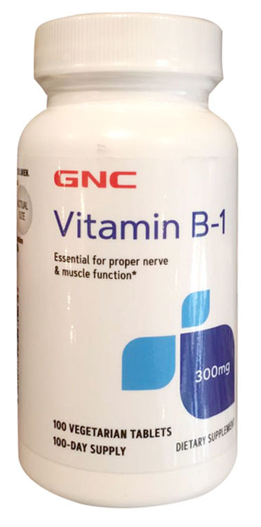 GNC Vitamin B-1 300 MG 100 Tablets. Buy online in pakistan on Saloni.pk