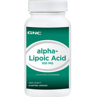 GNC Alpha-Lipoic Acid 100MG 60 Softgels