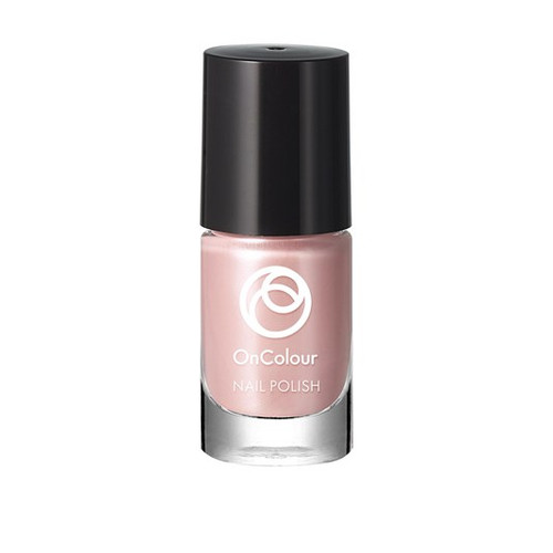 Oriflame OnColour Nail Polish Pearly Pink 5 ML Lowest Price on Saloni.pk