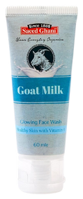 Saeed Ghani Goat Milk Face Wash 60 ML Buy online in Pakistan on Saloni.pk