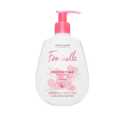 Oriflame Feminelle Protecting Intimate Wash Cranberry 300 ML Lowest Price on Salnoi.pk