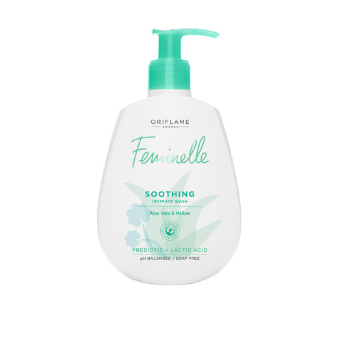 Oriflame Feminelle Soothing Intimate Wash Aloe Vera & Mallow 300 ML Lowest Price on Salnoi.pk