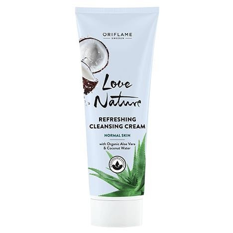 Oriflame Love Nature Aloe Coco Cleansing Cream 125 ML. Lowest price on Saloni.pk