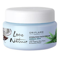 Oriflame Love Nature Face Cream Organic Aloe Coco 50 ML Lowest Price on Saloni.pk