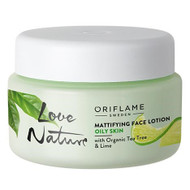 Oriflame Love Nature Tea Tree Lime Face Lotion 50 ML. Lowest Price on Saloni.pk