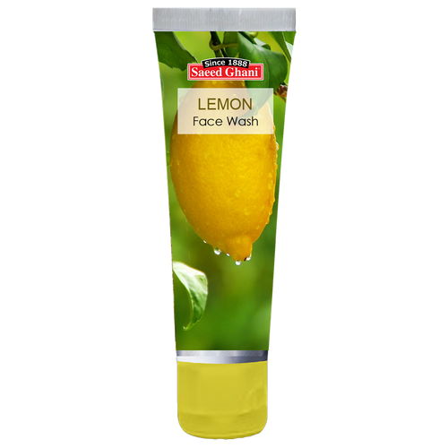 Saeed Ghani Lemon Face Wash 60 ML buy online in pakistan