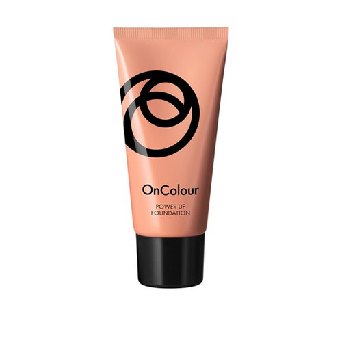 Oriflame OnColour Power Up Foundation Warm Ivory 30 Grams. Lowest Price on Salnoi.pk