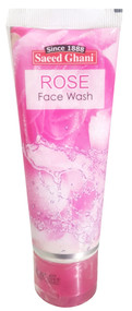 Saeed Ghani Rose Face Wash 60ml Buy online in Pakistan on Saloni.pk