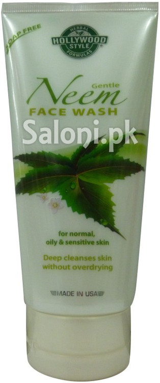 Hollywood Style Gentle Neem Face Wash (Front)