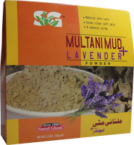 Saeed Ghani Multani Mud + Lavender Mask