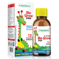 Nutrifactor Bio Grow Children's Syrup 120 ML. Lowest price on Saloni.pk.