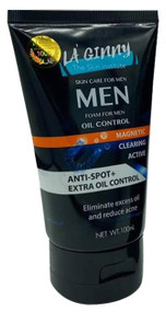 La' Ginny Men Anti Spot Extra Oil Control Foam 100ml