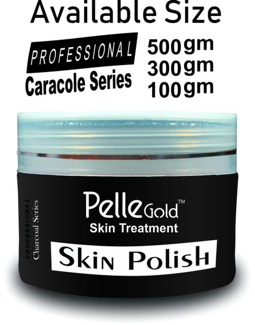 Pelle Gold Charcoal Series Skin Polish 100 gm lowest price in pakistan on saloni.pk